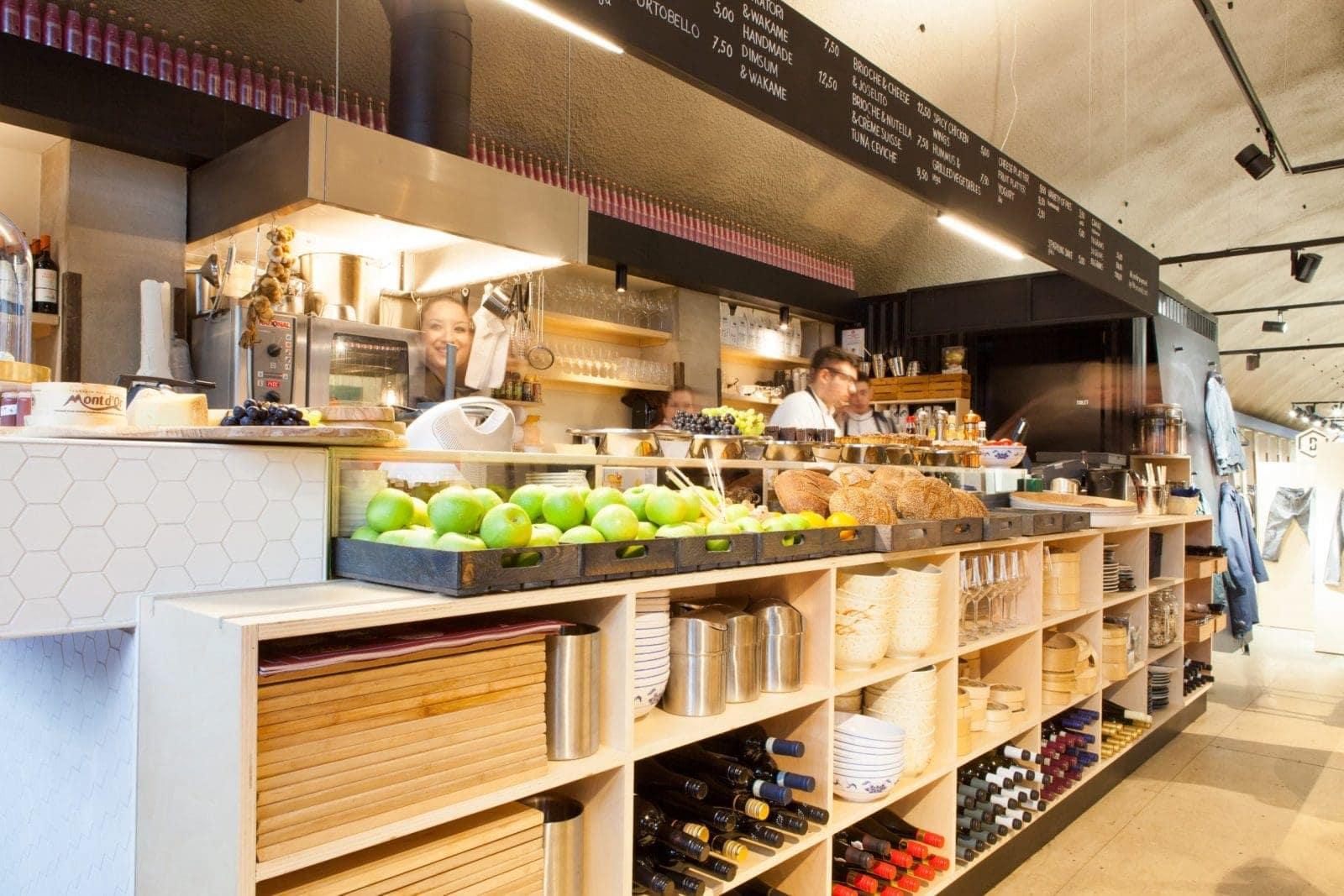 Op maat gemaakte kast voor keuken in Schiedam