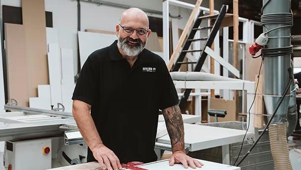 Francois - meubelmaker in Vlaardingen