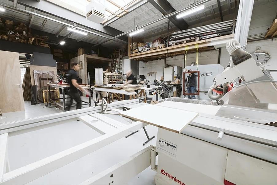 Onderhoudswerkzaamheden in onze atelier omgeving Spijkenisse