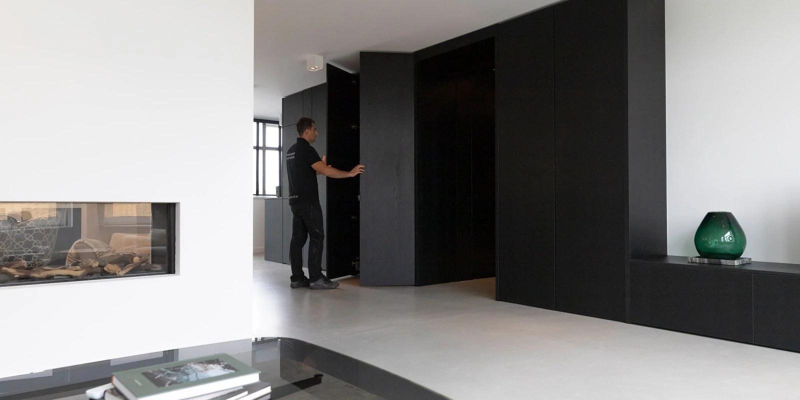 Garderobekast Op Maat Gemaakt Door Atelier 19 in Barendrecht