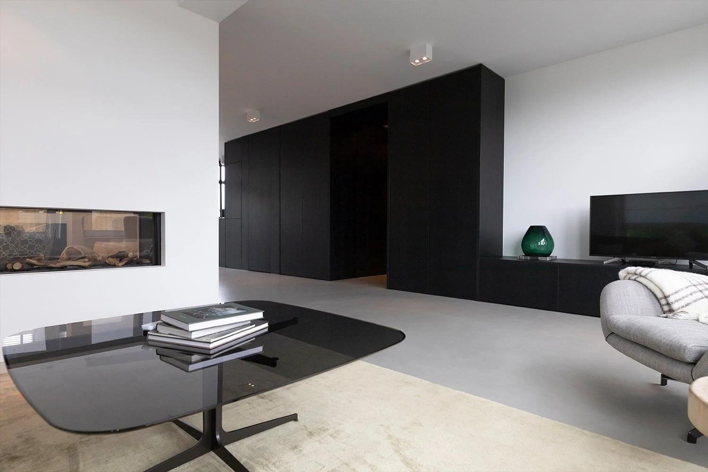 Op Maat Gemaakte Garderobekast Zwart Door Atelier 19 Zoetermeer
