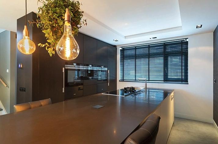 Donkergrijze Keuken Op Maat Laten Maken Delft