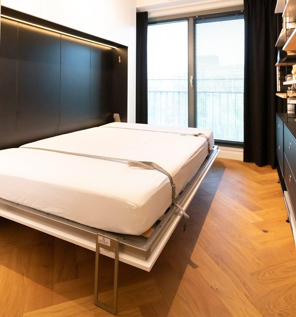 Interieurbouwer Rijswijk Hebben Een Inklapbaar Bed Gemaakt Voor Een Logeerkamer