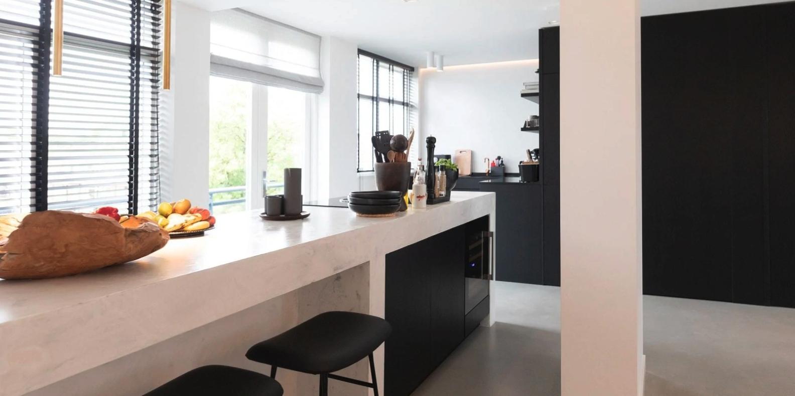 Witte maatwerk keukens